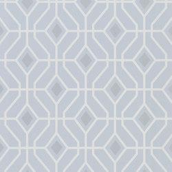 Majolica Wallpaper | Laterza - Sky | Wandbeläge / Tapeten | Designers Guild