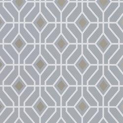 Majolica Wallpaper | Laterza - Zinc | Wandbeläge / Tapeten | Designers Guild