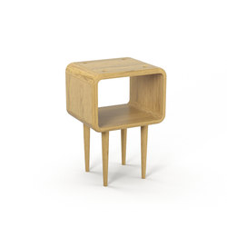Teve | small - oak clear oil  - with recesses | Side tables | Wiinberg