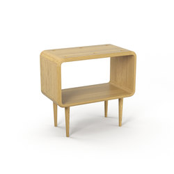Teve | medium - oak clear oil  - with recesses | Side tables | Wiinberg