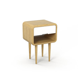 Teve | small - oak clear oil | Night stands | Wiinberg