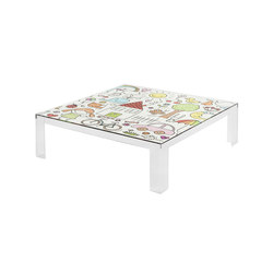 Invisible Kids table low | Children's area | Kartell