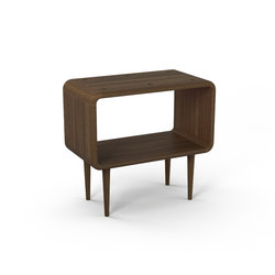 Teve | medium - smoked oak - with recesses | Side tables | Wiinberg