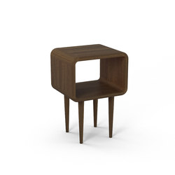 Teve | small - smoked oak | Night stands | Wiinberg