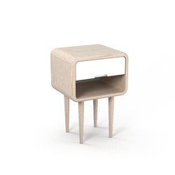 Teve | small - oak white oil | Night stands | Wiinberg