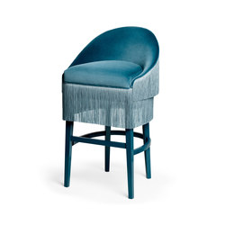 Fringes | Bar Stool | Tabourets de bar | MUNNA