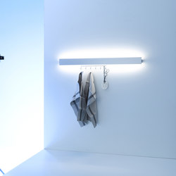 Coat rack light | GERA light system 8 | Lampade parete | GERA