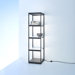 Light shelf Q40 | GERA light system 6 | Librerie con illuminazione integrata | GERA