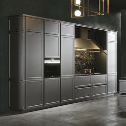 Frame | grigio piombo | Fitted kitchens | Snaidero USA