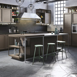 Frame | marrone terra | Island kitchens | Snaidero USA