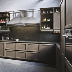 Frame | marrone terra | Kitchen hoods | Snaidero USA