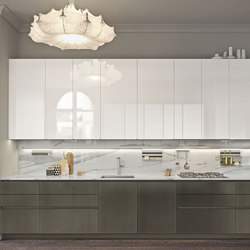 Look | bianco artico | Fitted kitchens | Snaidero USA
