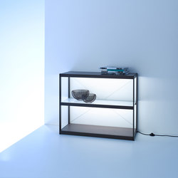 Sideboard 100 | GERA light system 6 | Illuminated shelving | GERA