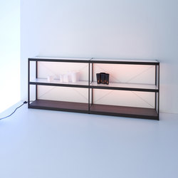 Sideboard 200 | GERA light system 6 | Illuminated shelving | GERA