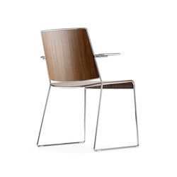 Finn Chair | Visitors chairs / Side chairs | ICF