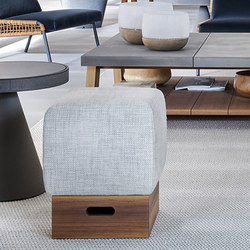 Blend Match Pouf | Poufs / Polsterhocker | Meridiani