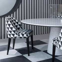 Odette Chair | Visitors chairs / Side chairs | Meridiani