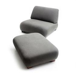 Cadaqués | Lounge Chair & Ottoman | Fauteuils | Santa & Cole