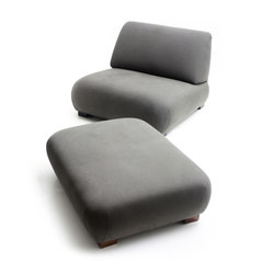 Cadaqués | Lounge Chair & Ottoman | Armchairs | Santa & Cole