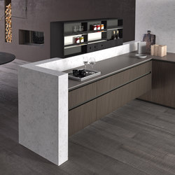 Alumina banco | Fitted kitchens | Comprex S.r.l.