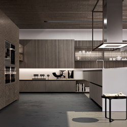 Alumina peninsula | Fitted kitchens | Comprex S.r.l.