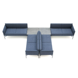 Chill-Out | Asientos modulares | Tacchini Italia
