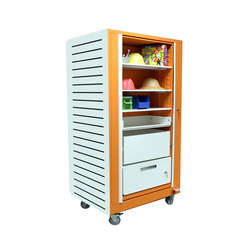 Times-2 Rotary Teacher's Cabinet | Storage units | Aurora Storage
