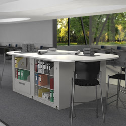 Times-2 Collaboration Tables | Desking systems | Aurora Storage