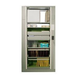 Times-2 Pass Thru Cabinet | Armadi ufficio | Aurora Storage