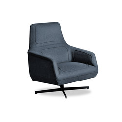 Dressed | Lounge chairs | Tacchini Italia