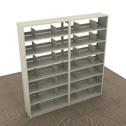 Aurora Quik-Lok Shelving Add-On, Letter Filing | Office shelving systems | Aurora Storage