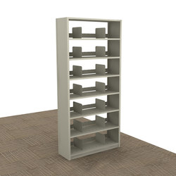 Aurora Quik-Lok Filing Shelving Starter, Legal Filing | Office shelving systems | Aurora Storage