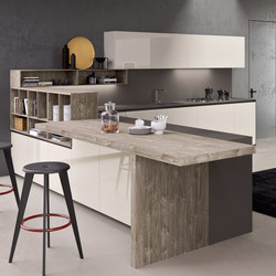 Forma peninsula | Shelving | Comprex