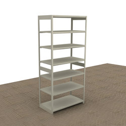 Aurora Quik-Lok Open Shelving Starter | Office shelving systems | Aurora Storage