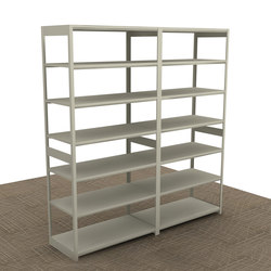 Aurora Quik-Lok Open Shelving Add-on | Sistemas de estantería | Aurora Storage