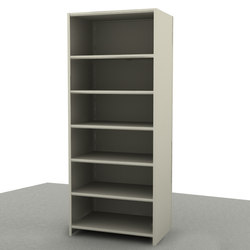 Aurora Quik-Lok Closed Shelving Starter | Office shelving systems | Aurora Storage