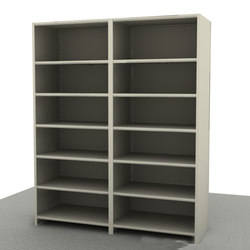 Aurora Quik-Lok Closed Shelving Add-on | Office shelving systems | Aurora Storage