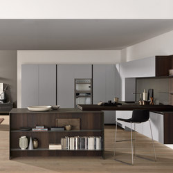 Linea peninsula | Fitted kitchens | Comprex