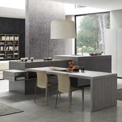Segno island | Island kitchens | Comprex