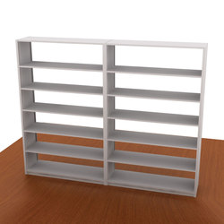 Aurora Library Shelving Add-on (Open Back) | Büroregalsysteme | Aurora Storage