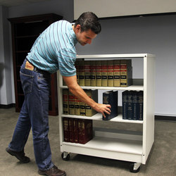 Aurora Library Carts | Carritos para libros | Aurora Storage