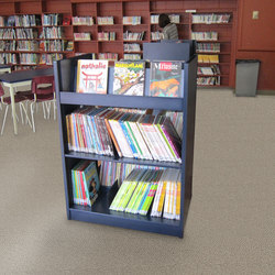 Aurora Library Periodical Display Unit (Double Entry) | Book displays / holder | Aurora Storage