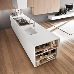 Sintesi.30 peninsula | Island kitchens | Comprex S.r.l.