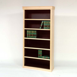 Wood-Tek Diplomat Shelving | Office shelving systems | Aurora Storage