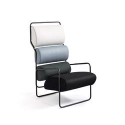 Sancarlo armchair | Fauteuils d'attente | Tacchini Italia