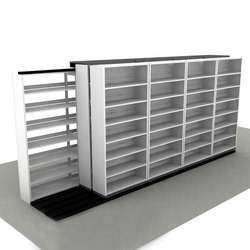 Aurora Side-to-Side Mobile | Office shelving systems | Aurora Storage