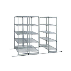 Aurora Skate Track Wire Shelving System | Office shelving systems | Aurora Storage