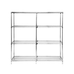 Aurora Wire Shelving Add-On | Sistemi scaffale ufficio | Aurora Storage