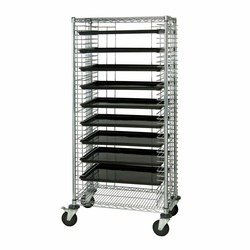 Aurora Cafeteria Cart | Trolleys | Aurora Storage