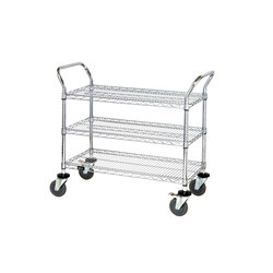 Aurora Bin Wire Carts | Trolleys | Aurora Storage